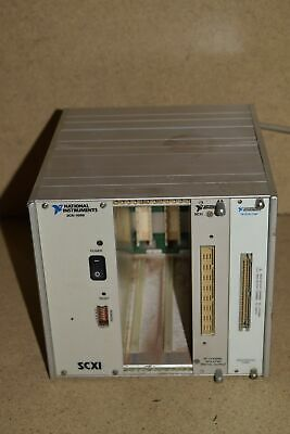 ^^ National Instruments Scxi-1000- W/ Scxi-1163 / Scxi-1180