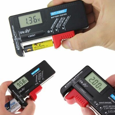 New Indicator Universal Battery Cell Tester AA AAA C/D 9V Volt Button Checker AU