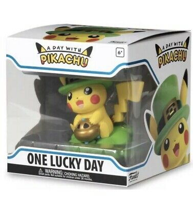 IN HAND ORDER: Funko Pokemon Center Exclusive PIKACHU ONE LUCKY DAY - FAST