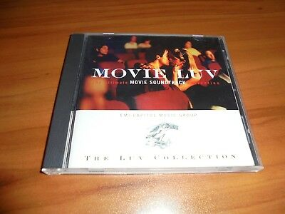 Luv Collection: Movie Luv by Various Artists (CD, Nov-1996, EMI) Used Love