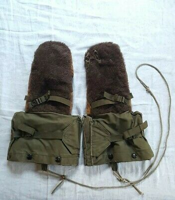 Vintage WW1? WW2? Military Army Winter Gloves Mittens