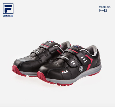 e97eadaac04 SAFETY WORK SHOES Fila Memory Workshift Women Size 8 Black Leather ...
