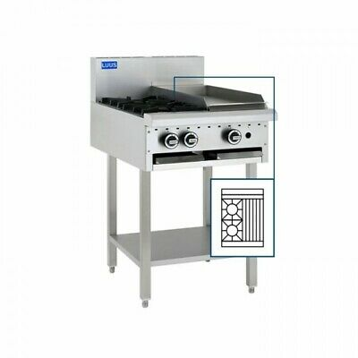 LUUS Essentials 2 Burner 300mm Chargrill Char Grill Cooktop BCH-2B3C NG