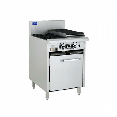 LUUS Essentials 2 Burner 300mm Chargrill Char Grill & Oven CRO-2B3C NG
