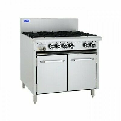 LUUS Essentials 6 Burner & Oven CRO-6B LPG