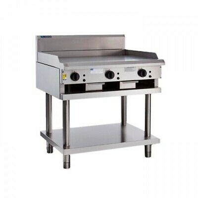 LUUS Professional 900mm Gas Griddle Hot Plate Flat Top BBQ Grill CS-9P NG