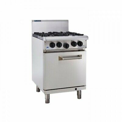 LUUS Professional 4 Burner & Oven RS-4B NG