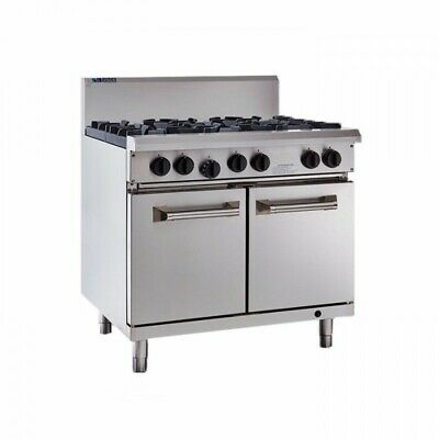 LUUS Professional 6 Burner & Oven RS-6B NG