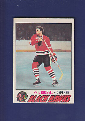Phil Russell 1977-78 O-PEE-CHEE Hockey #235 (EX+)