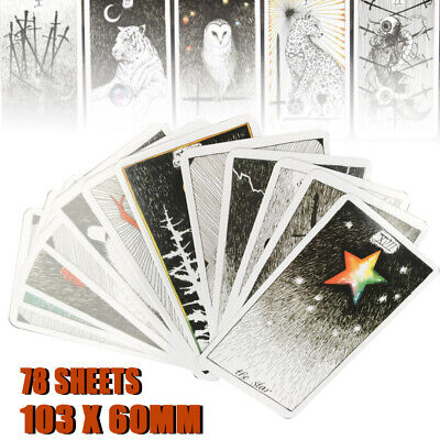 78pcs  The Wild Unknown Tarot Deck Card Fortune Telling Cards Set