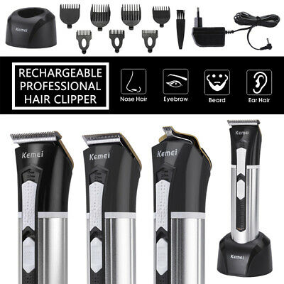 Men's Rechargeable Shaver Hair Clipper Trimmer Blade Kits Grooming Machine Kits