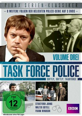 Task Force Police-Vol.3- Norman Bowler,Walter Gotell,Jenny Hanley  3 Dvd New