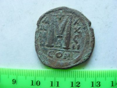 BYZANTINE Large (30mm) Byzantine coin, Eastern Roman Empire,Ancient Romaion.(B7)