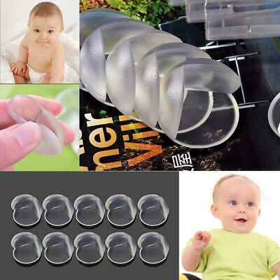 10pcs Child Baby Safe Desk Table Corner Guard Cushion Protector Covers Proof AT