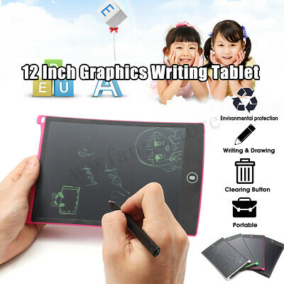 12'' LCD Writing Tablet Pads for Boogie Board Jot Style eWriter Boards Gift AU