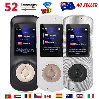 Smart Instant Voice Translator 52 Languages Speech Interactive Translation Tool