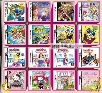 425 games in 1 package NINTENDO DS/DSi/3DS/ for GIRLS
