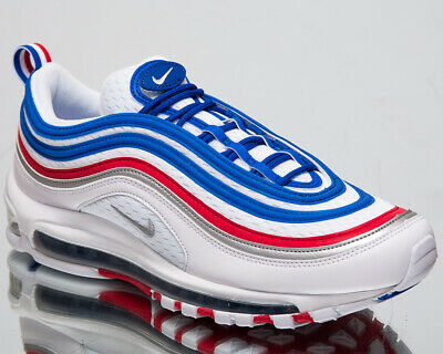 NIKE AIR MAX 97 All Star Jersey Men's New White Royal Casual Sneakers 921826 404