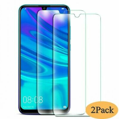2x Tempered Glass Screen Protector For Huawei P Smart 2019 / 2018 Honor 10 Lite