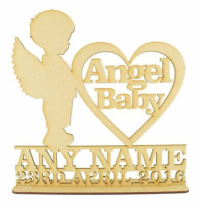 Personalised Angel Baby Sign, Memorial, Bereavement, Infant Loss, Miscarriage