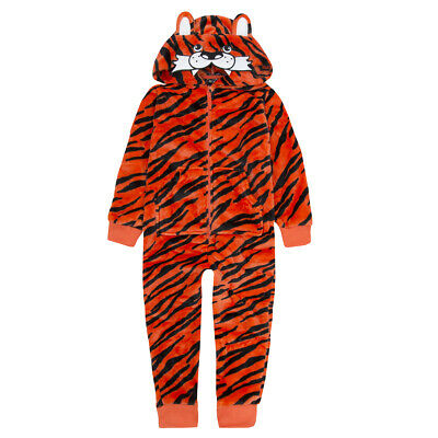 Boys Girls Fancy Dress Party Costume Kigurumi Tiger Monster Unicron All In One