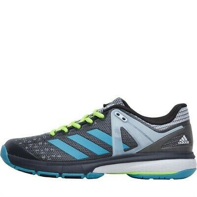 wholesale price lace up in really cheap ADIDAS WOMENS COURT Stabil 13 Handball Dgh Grey Trainers ...