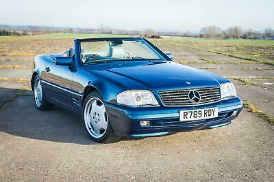 1998 Mercedes-Benz R129 SL500 Special Edition - FSH (14 Stamps) - Pan Roof