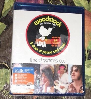 Woodstock - Director's Cut [Blu-Ray 3-Discs)
