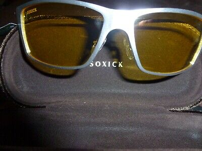 1e21d1192e4f Soxick Night Driving Glasses Anti Glare Polarized Safe Vision Sunglasses NEW