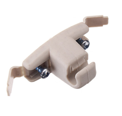 BEIGE Car Sun Visor Clip Holder Bracket Hook BMW E46 323i 323Ci 325xi M3