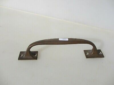 Vintage Bronze Door Handle Shop Pull Architectural Antique Old Pub Brass  10""