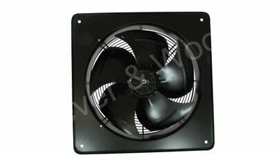 Commercial Ventilation Extraction Plate Mount Axial Fan 20 inch 500mm
