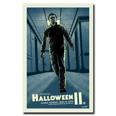 Halloween 24x36inch Classic Horror Movie Silk Poster Cool Gifts Shop Room Decal