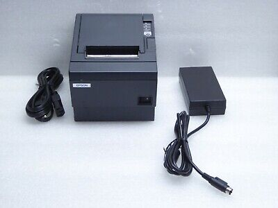 Epson TM-T88IIIP Point Of Sale Thermal Printer Model: M129C With Power Supply