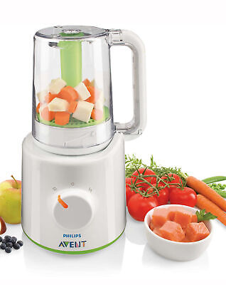 Philips AVENT 2-in-1 Healthy Baby Food Maker Steamer Flip Blend Healthy Meals