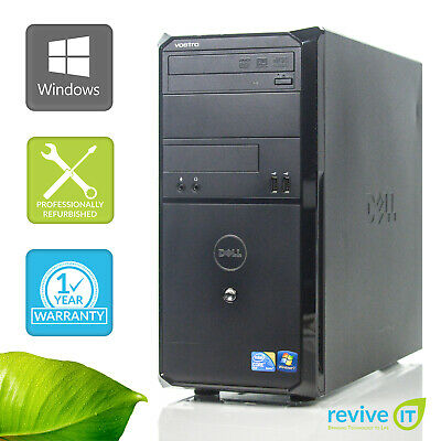 DELL VOSTRO 230 MT E8400 3 00GHz 4GB 500GB HDD USB WiFi Win