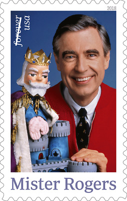 2018 50c Mister Fred McFeely Rogers, Television Scott 5275 Mint F/VF NH