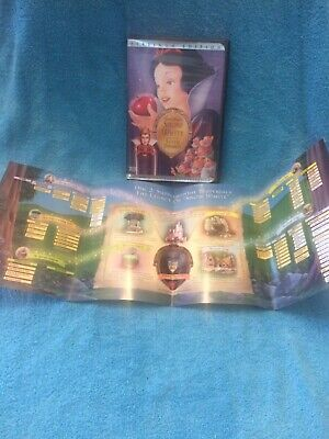 Snow White and the Seven Dwarfs DVD 2001 2-Disc Set Platinum Special Edition