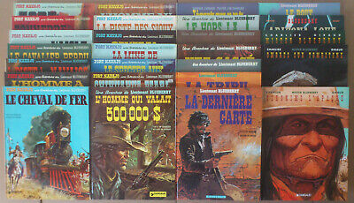 GIRAUD / CHARLIER  ** BLUEBERRY. TOMES 1 à 26  + JEUNESSE T. 1 à 10  ** DONT EO