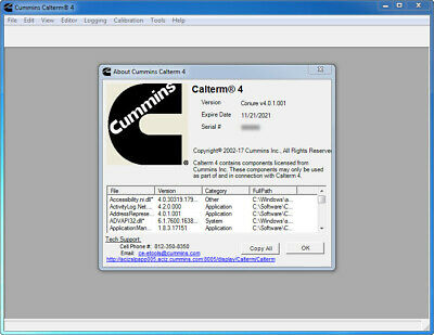 CUMMINS INSITE 8 3 0 120 on VMware Virtual PC (ready to work
