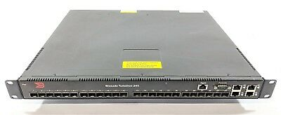 Brocade TurboIron 24X TI-24X-AC 24 Port Gigabit Ethernet Switch