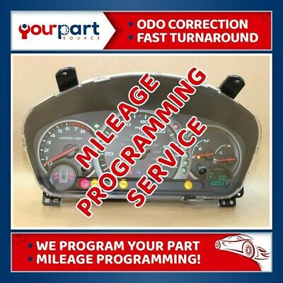 ODOMETER CORRECTION PROGRAMMING 02-09 Trailblazer Instrument