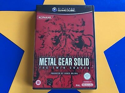 METAL GEAR SOLID THE TWIN SNAKES - GAMECUBE - Wii Compatible
