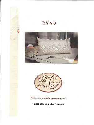 Etereo Hardanger Pillow -- Carpacar Pattern