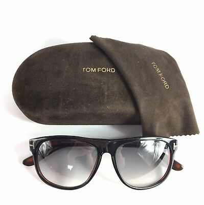14f2276986460 Tom Ford Olivier Sunglasses Black Brown Sun Shades Frames Glasses Case  TF236 05B