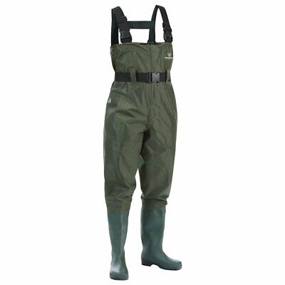 FISHINGSIR Chest Fishing Waders Hunting Bootfoot with Wading Belt Waterproof...