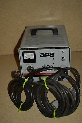 <Rt> Apa 36 Volt Automatic Battery Charger P/n 395101 Model 12050