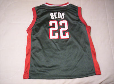 8a042e1ef Vintage Milwaukee Bucks Michael Redd Basketball Jersey Youth L (14-16)  Adidas