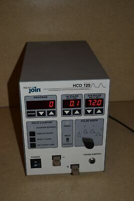 <Rt> Micro Join Hcd125 Programmable Capacitor Discharge Power Supply