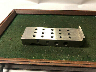 MACHINIST TOOLS MILL Tool Makers Ground Precision Sine Plate Bar Block DrL